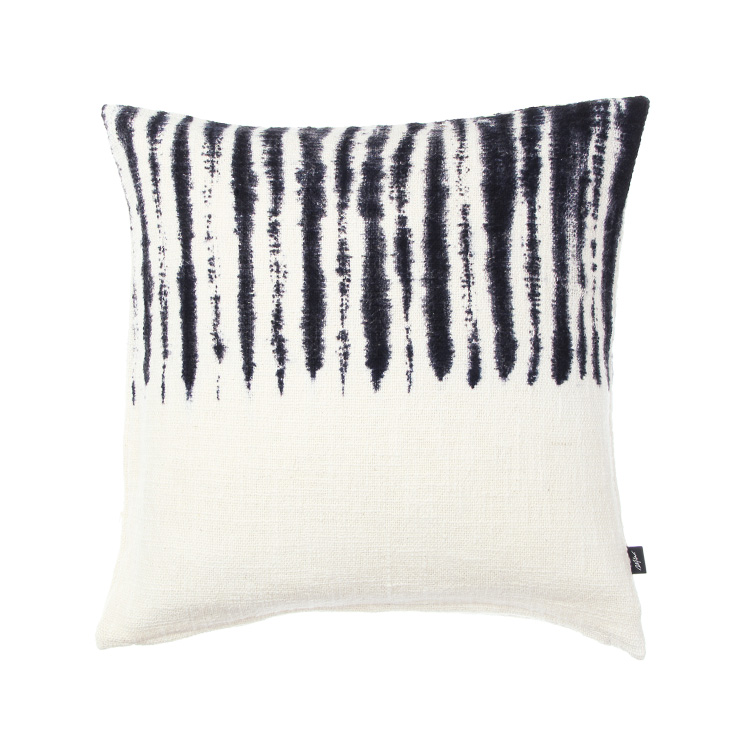 TIE DYE CUSHION COVER HALF BK