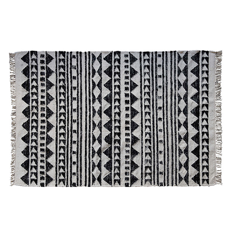 TRIBAL WOOL RUG 120X180